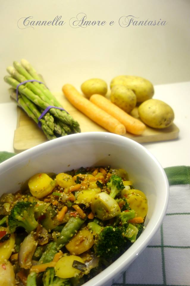 verdure al sesamo la giusta 1
