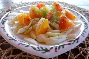 insalata di finocchio e arancia 1
