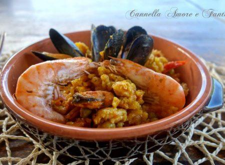 Paella Valenciana ricetta tradizionale mista