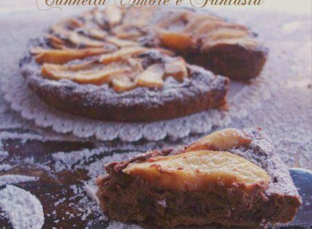Cheese cake siciliano cioccolato e pere