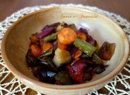 Rattatouille siciliana di verdure