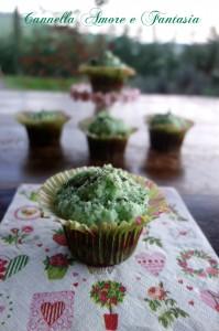 cupcakes al cioccolato e tè verde la giusta