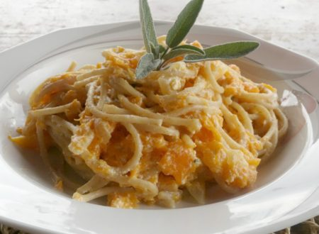 Spaghetti ricotta e zucca