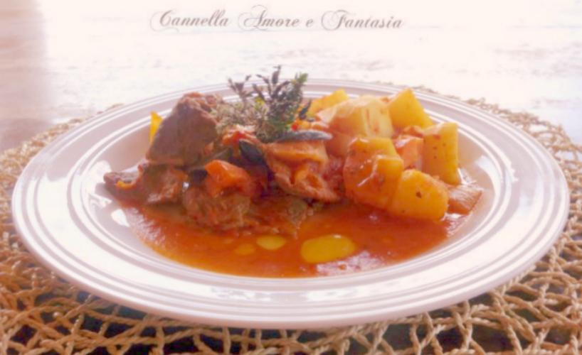 straccetti di carne alla siciliana