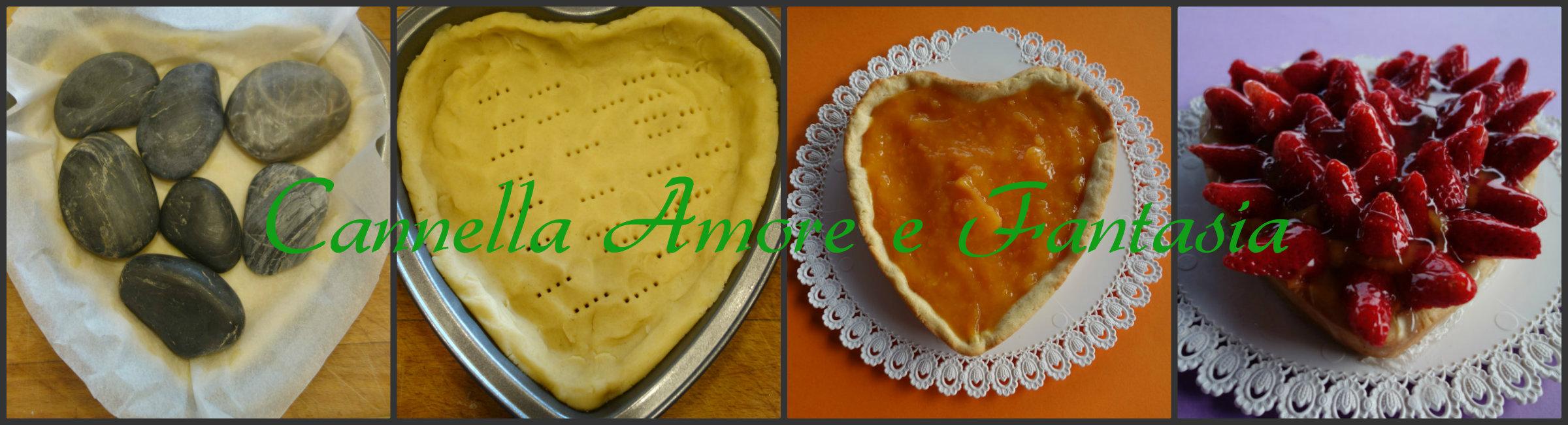 Crostata di fragole alla crema di arancia