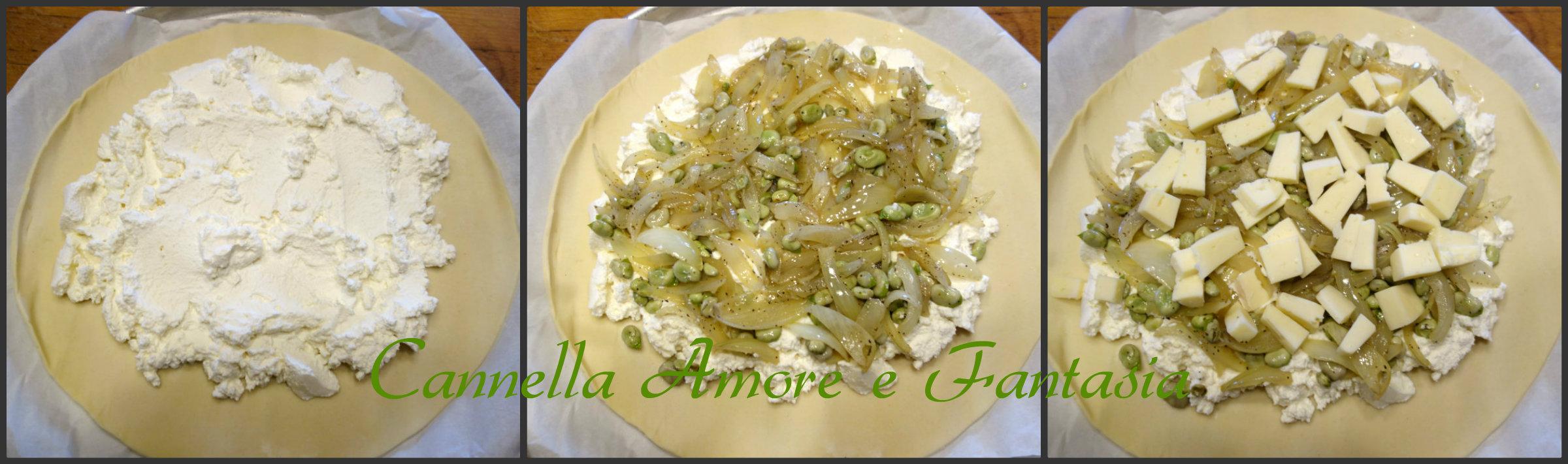 Mpanata siciliana di ricotta e fave