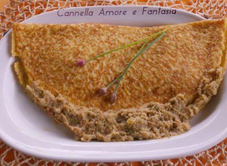 Omelette con carciofi