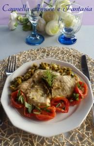 pesce spada asparagi e pomodorini 2 la giusta
