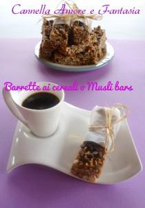barrette ai cereali o musli bars 1