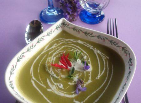 Crema di asparagi ricetta light