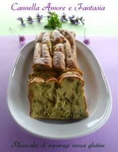 plumcake di asparagi senza glutine la giusta