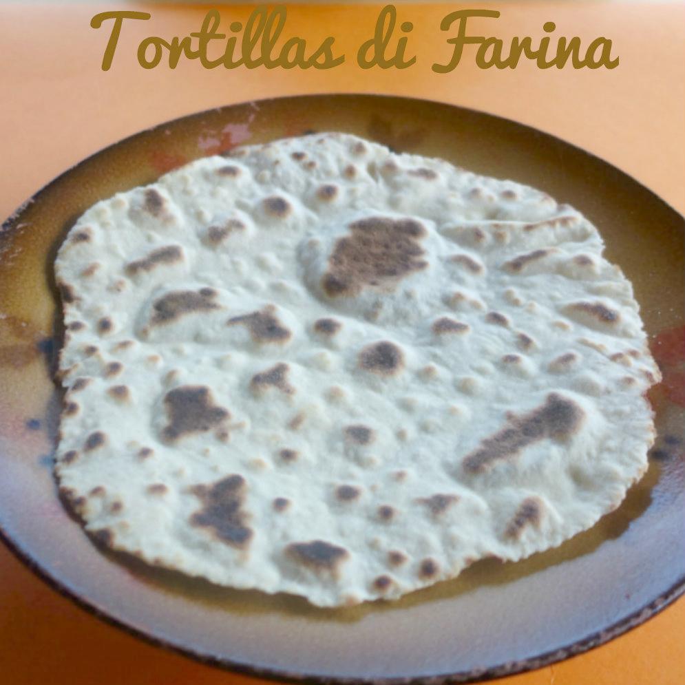 Tortillas di farina ricetta originale