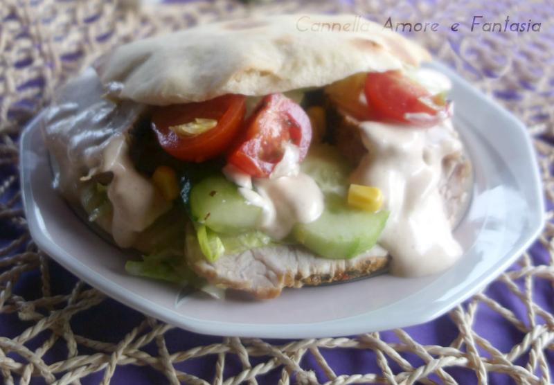 Kebab fatto in casa all'italiana