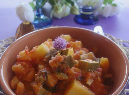 Minestra di zucchine e patate estiva