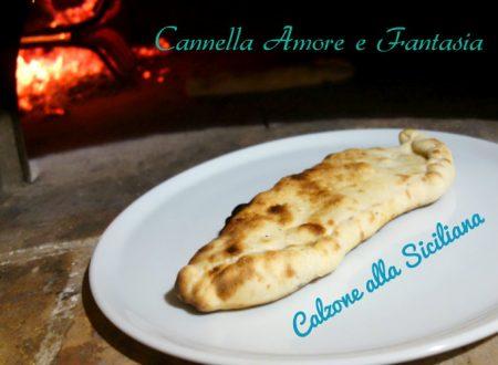 Calzone Siciliano cotto nel forno a legna