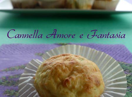 Muffins salati alle zucchine e parmigiano