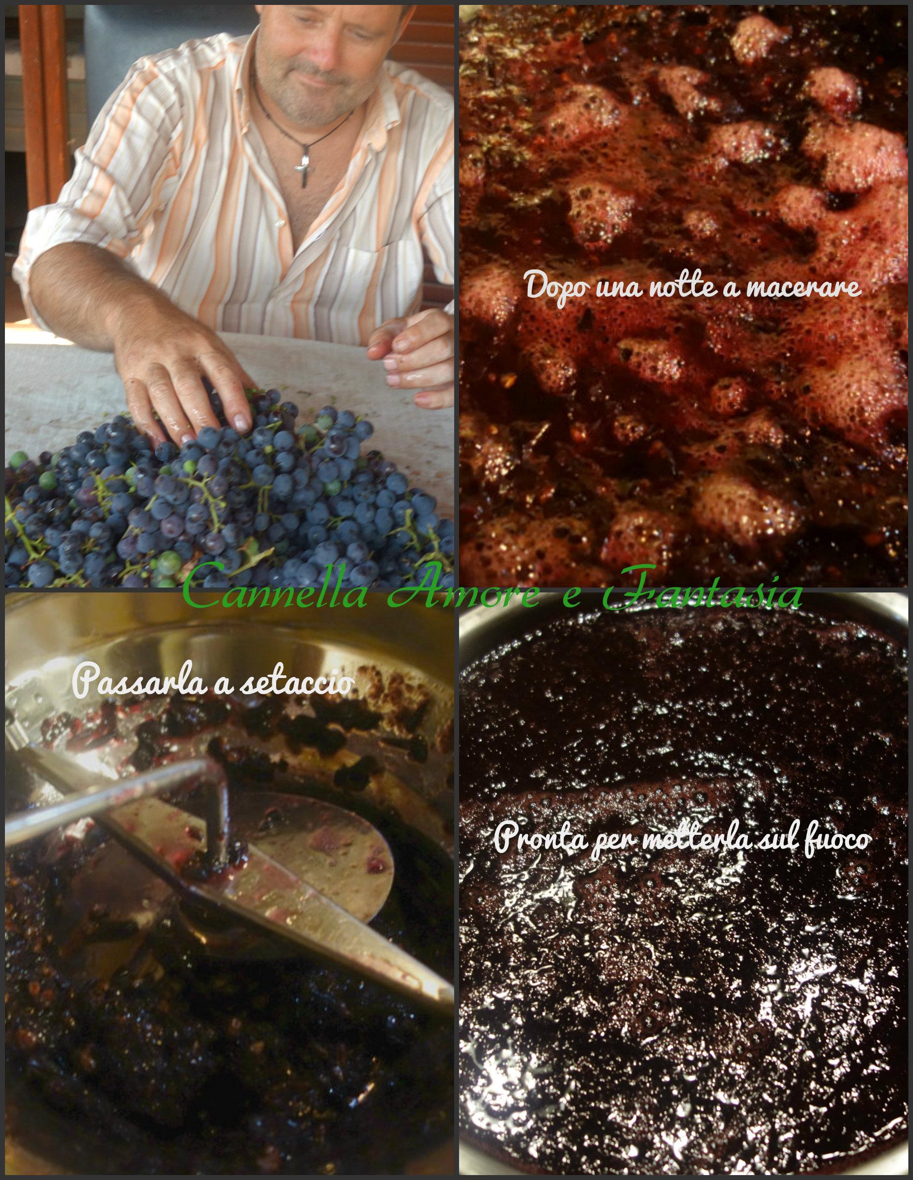 Gelatina d'uva fragola Collage finito 1