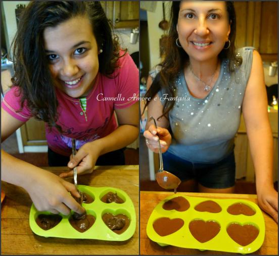 Lidia e Federica muffins nutella