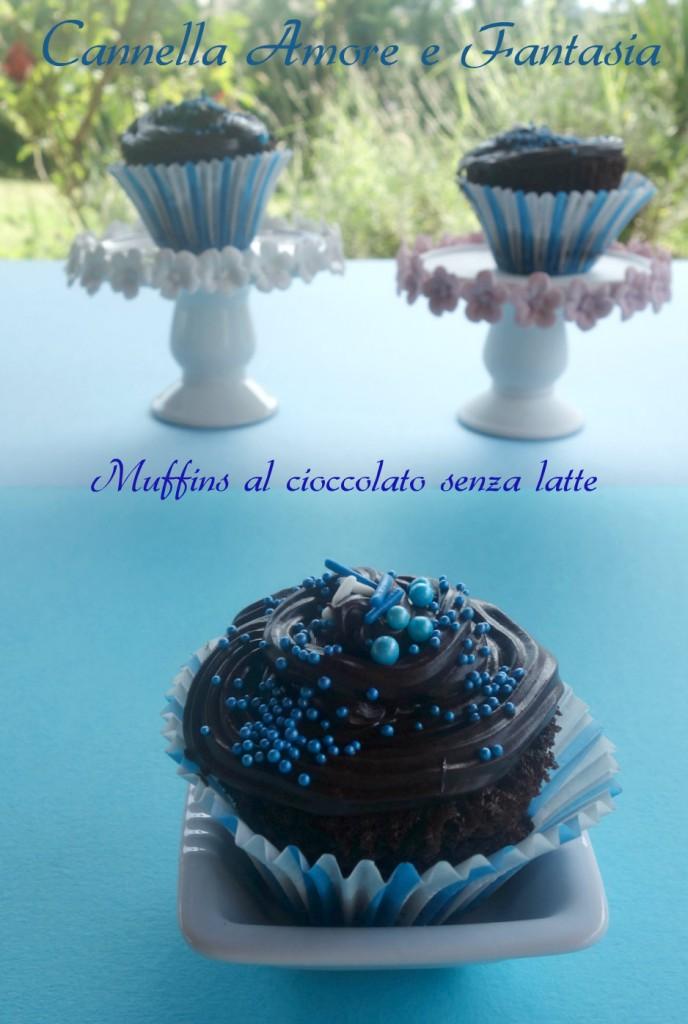 Muffins-al-cioccolato-senza-latte