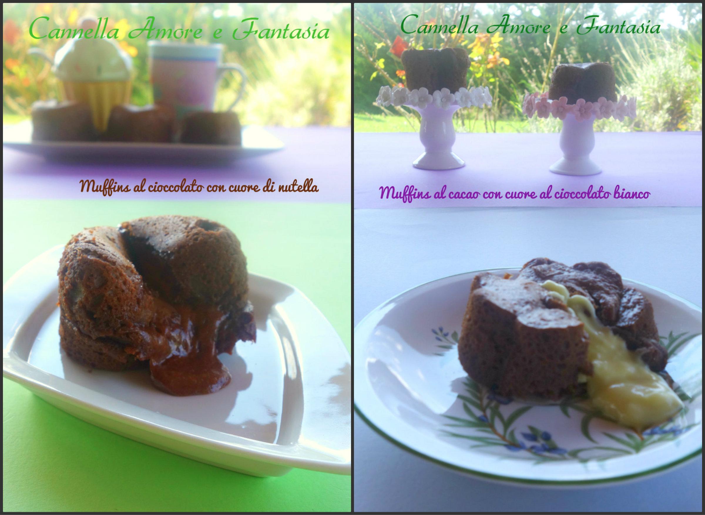 collage muffins nutella e bianco finito 3