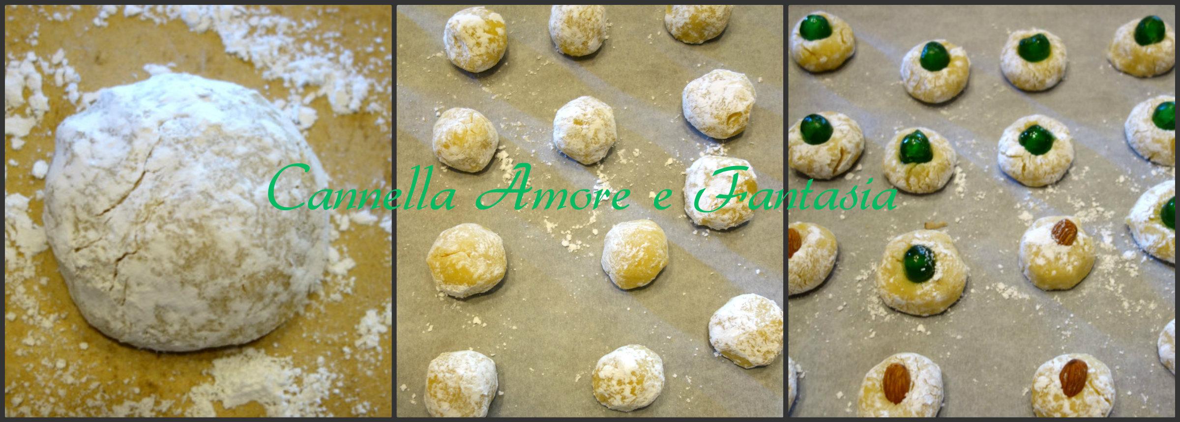 pasticcini siciliani collage finito