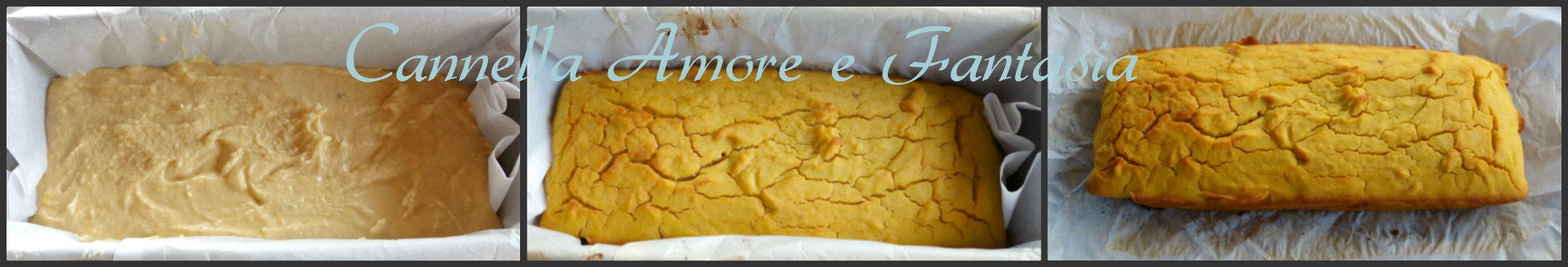 Plumcake poche calorie collage finito 2