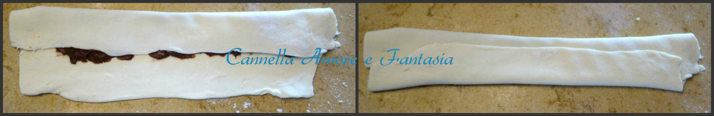 brioche di pasta sfoglia e nutella collage 2 finito