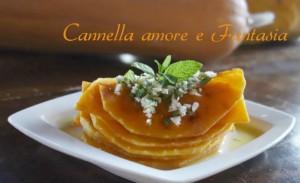 zucca grigliata alla siciliana