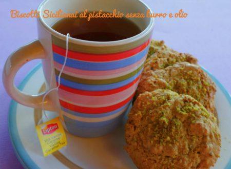 Biscotti siciliani al pistacchio senza burro e olio
