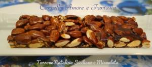 Torrone natalizio siciliano o Minnulata la giusta
