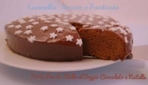 Torta pan di stelle al doppio cioccolato e nutella la giusta