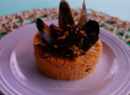 Couscous di cozze pronto in 5 minuti