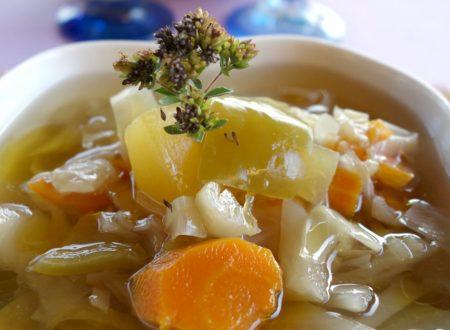 Zuppa di stagione drenante