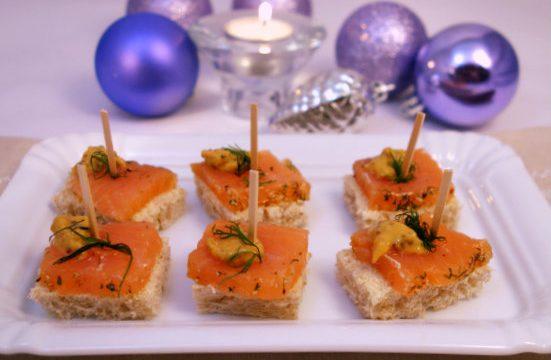 Salmone marinato o Gravet laks