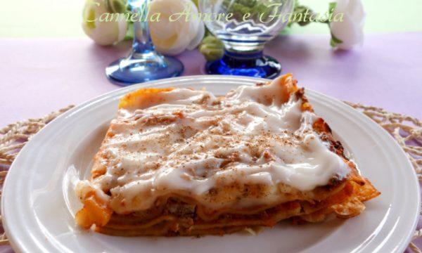 Lasagne con ragù di carne alla siciliana