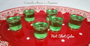 hot shot gelèe la giusta orizontale