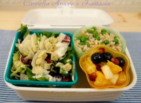Pranzo vegetariano in ufficio con il bento