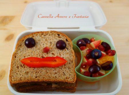 Pranzo con il bento in ufficio per i sandwiches lovers