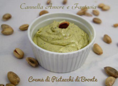 Crema di pistacchi di Bronte fatta in casa