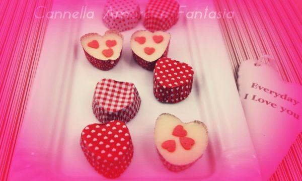 Cioccolattini veloci per San Valentino