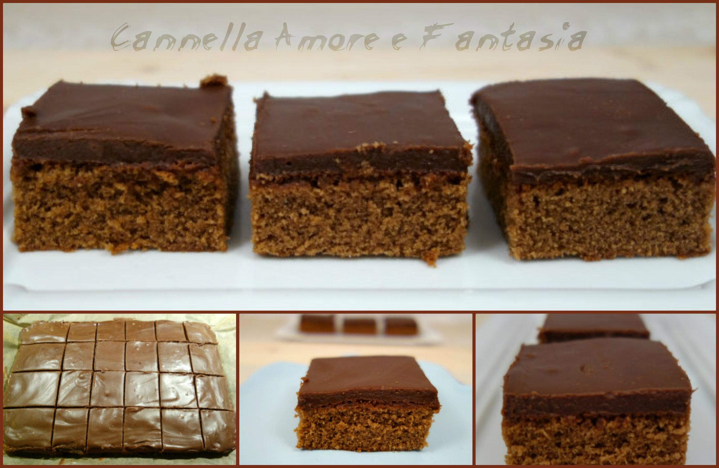 Brownie al triplo cioccolato la giusta. 2
