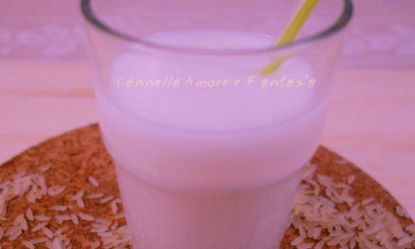 Latte di riso fatto in casa
