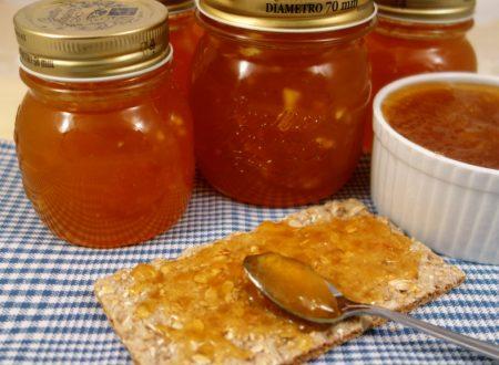 Marmellata di mango mela e limoncello