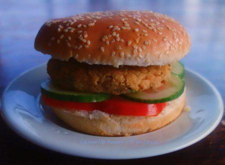 Burger di soia ricetta vegan
