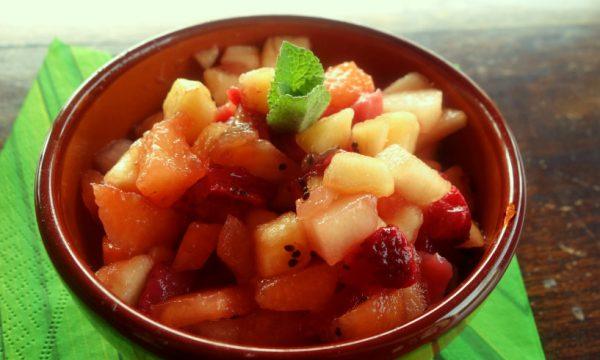Macedonia di frutta alla siciliana