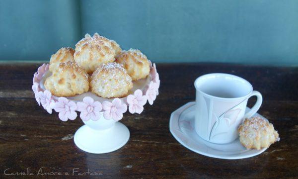 Kokosmakroner dolcetti al cocco norvegesi