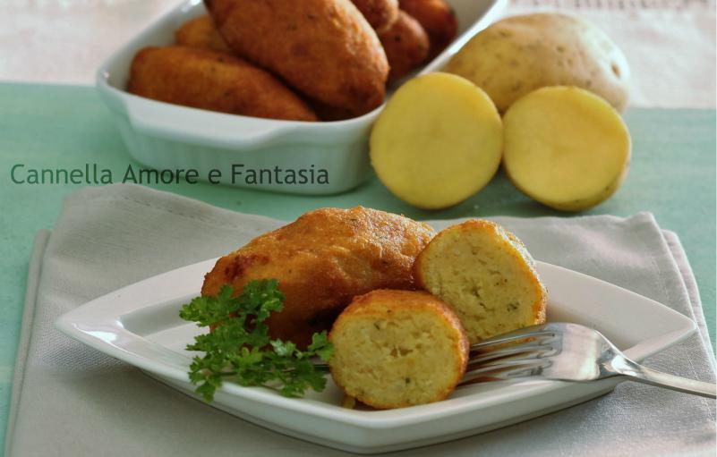 Crocchette di patate alla siciliana 1