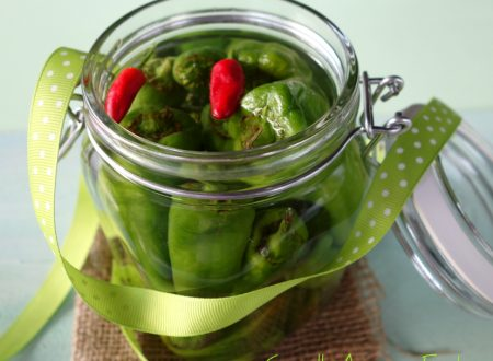 Friarelli sott'aceto – Peperoncini verdi sott'aceto