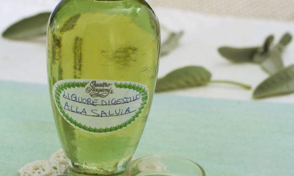 Liquore digestivo alla Salvia