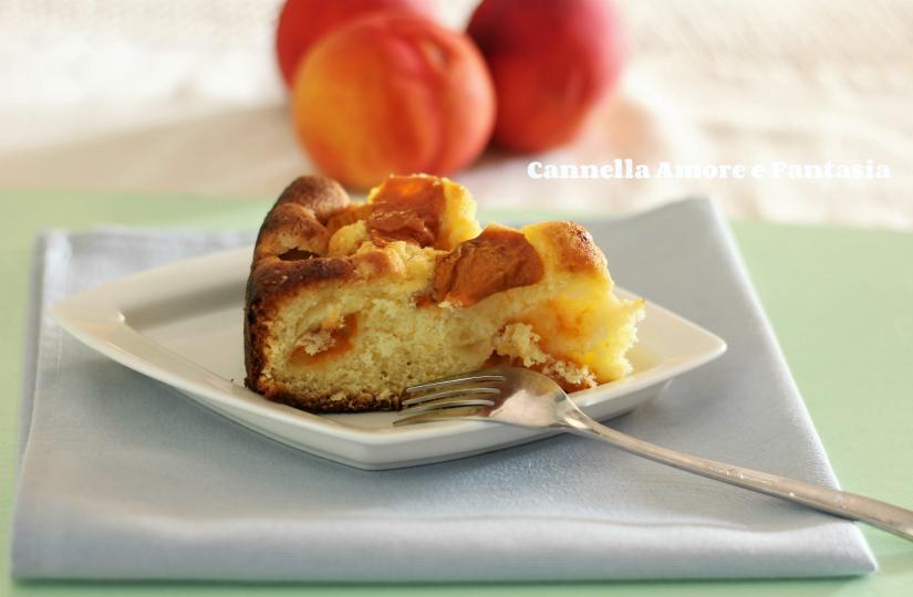 Torta di mele e albicocche 1